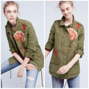 Anthropologie Hei Hei Embroidered Jacket
